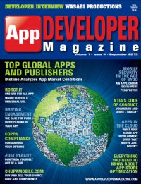 App Developer Magazine Sept13 issue