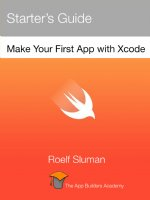 Making Your First Swift App Book