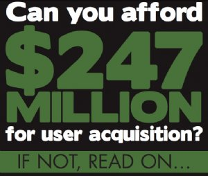 Can You Afford $247 Million For User Mobile Acquisition