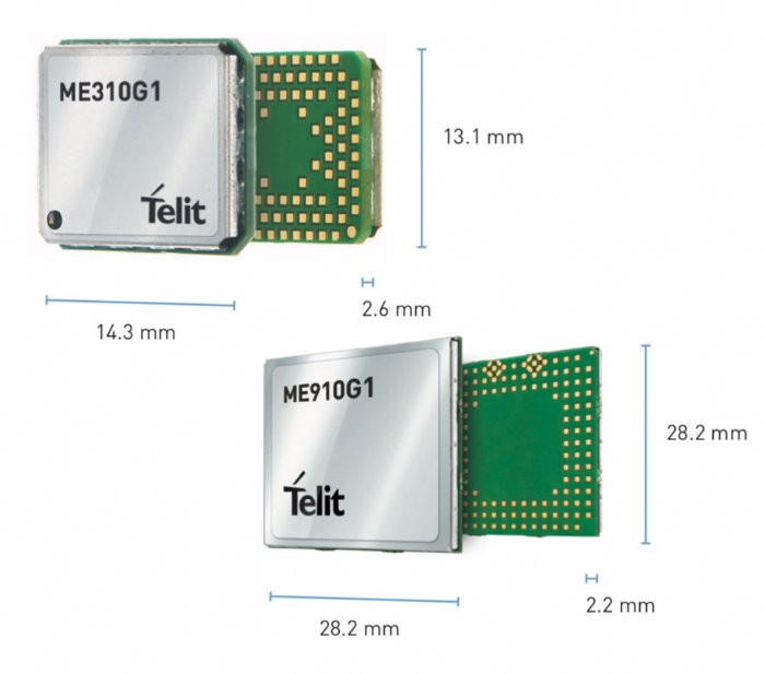 5G meets IoT with Telits New ME310G1 and ME910G1 modules