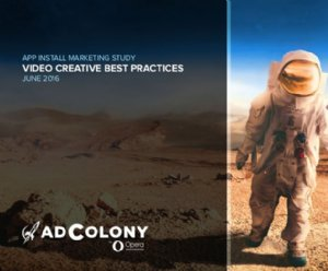 Adcolony Studies the Impact of Advertising Creative on AppInstall Campaigns