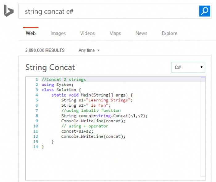 Microsoft's Bing and HackerRank Offer Way to Play with Code | ADM