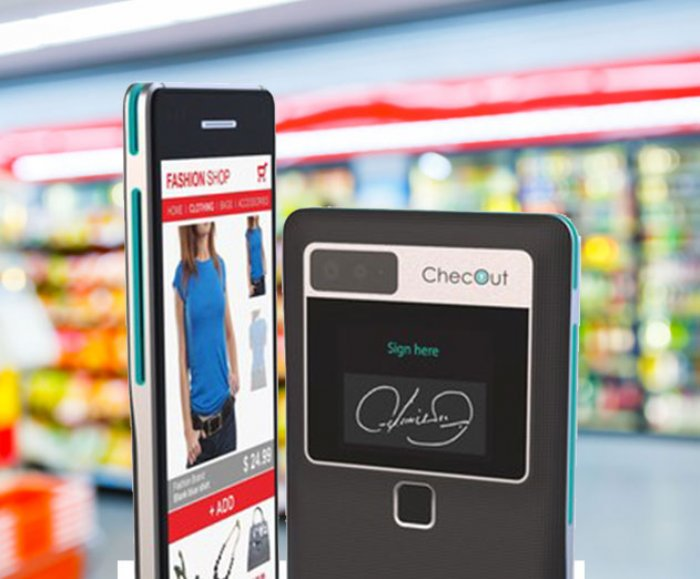 ChecOuts new payment terminal to go on your phone!