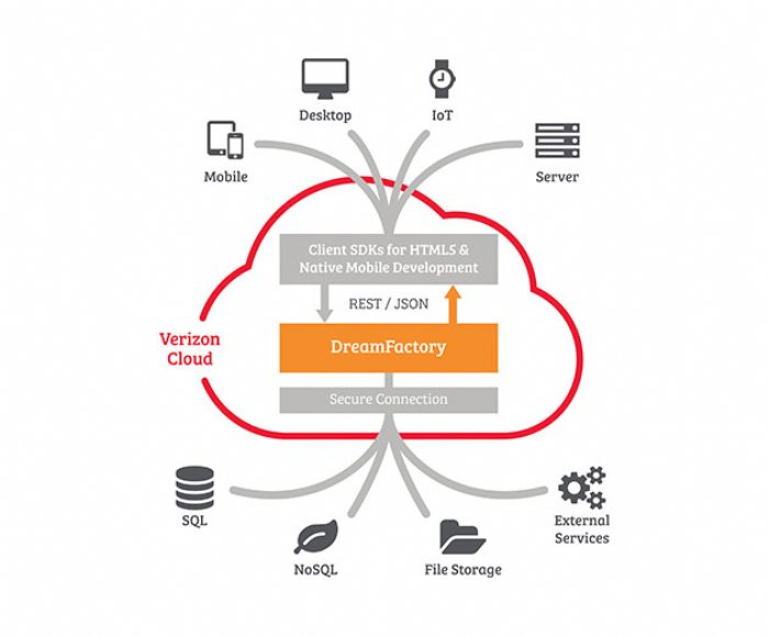DreamFactory REST API Platform Now Available on Verizon Cloud