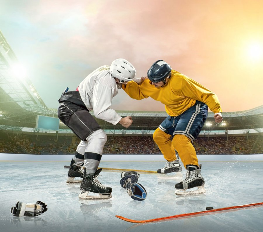 Dropping the gloves with hockey and SPE