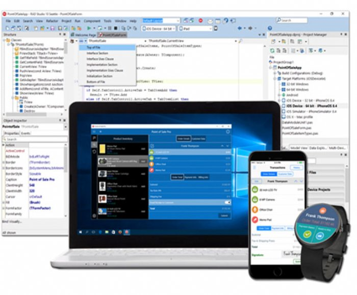 Embarcadero RAD Studio 10 Allows Developers to Build Delphi and C++ iOS Apps