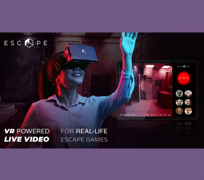 Escape the app launches live-gaming experience
