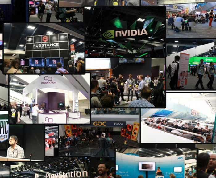 GDC 2015 Day 4 Photo Collage, Just For Fun!