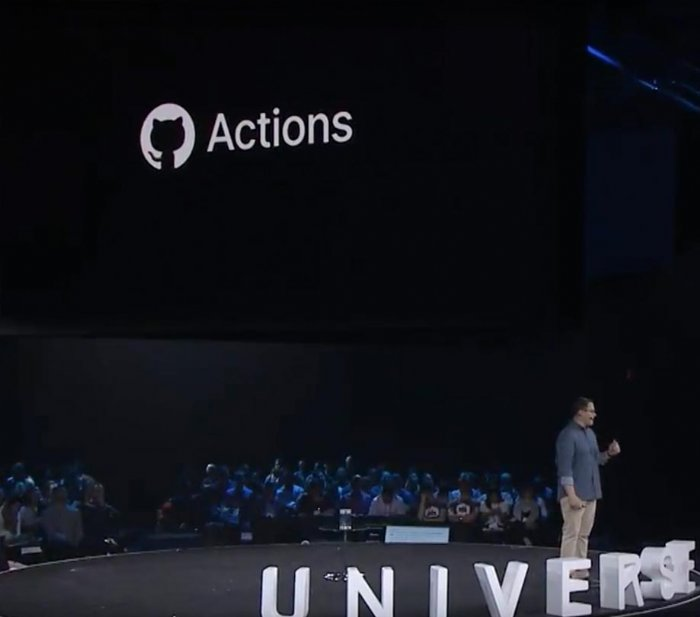 GitHub Actions and other announcements from GitHub Universe