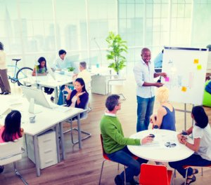 Using IoT in the office to help employees be happy