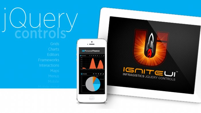 Ignite UI For HTML5 and Jquery Controls