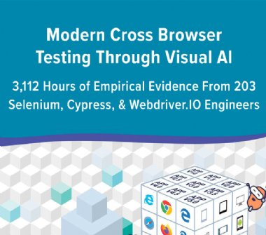 Modern cross browser testing helps engineers test faster