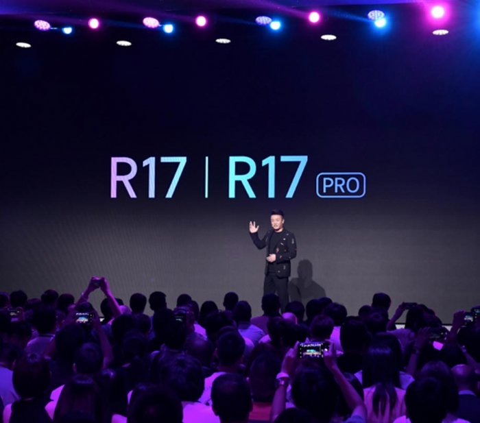 OPPO R17 phone releases in style