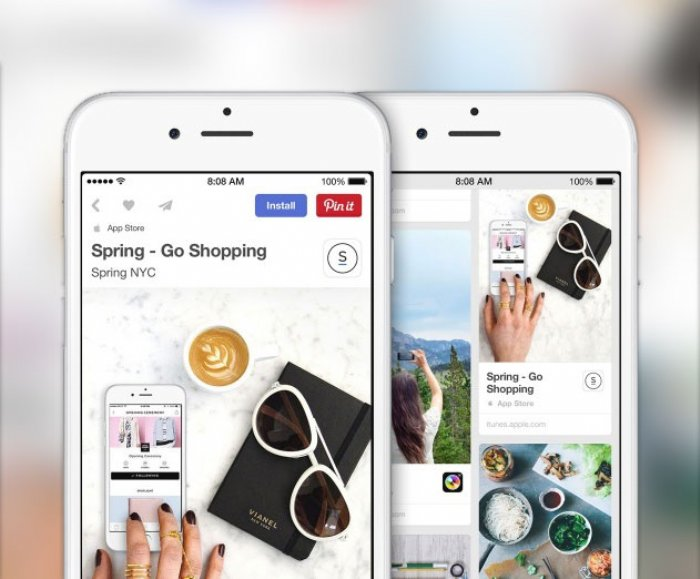 Pinterest promoted app pins now suported by Bidalgo