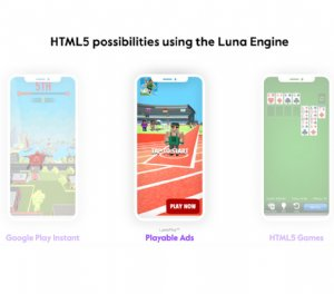 Playable gaming ads lands from Luna Labs
