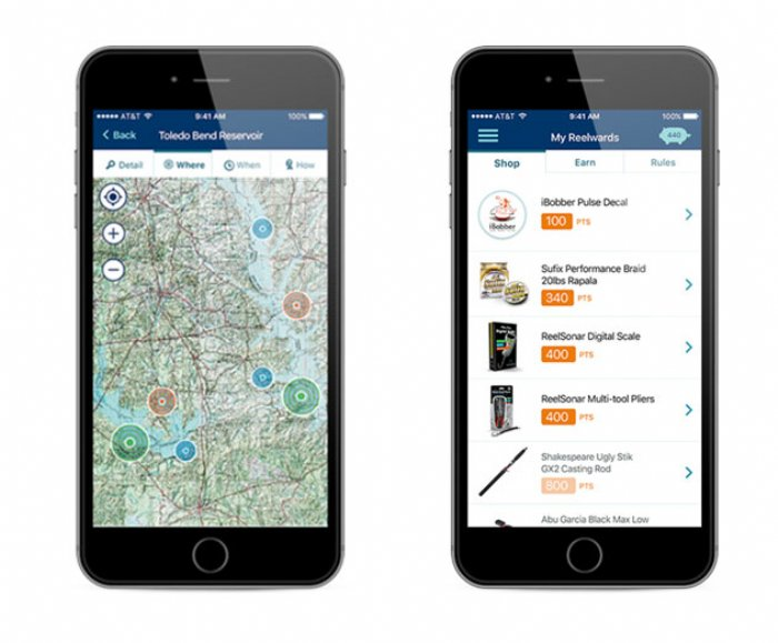 NetFish app guides you to catch more fish
