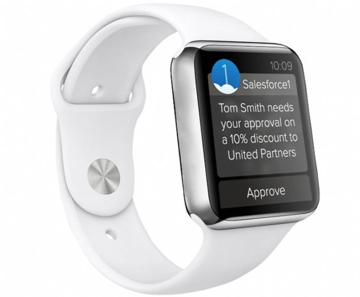 Salesforce Launches Developer Pack for Apple Watch