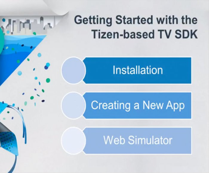 Samsung Releases Smart TV SDK 1.0 Beta for the Tizen TV Platform