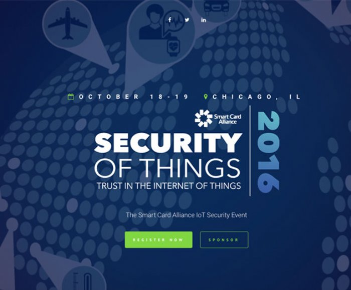 Security of Things 2016 Conference to Focus on IoT Security, Privacy, and Authentication