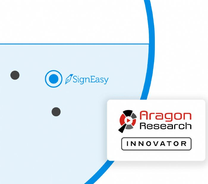 SignEasy earns Innovator title again from Aragon Research Globe