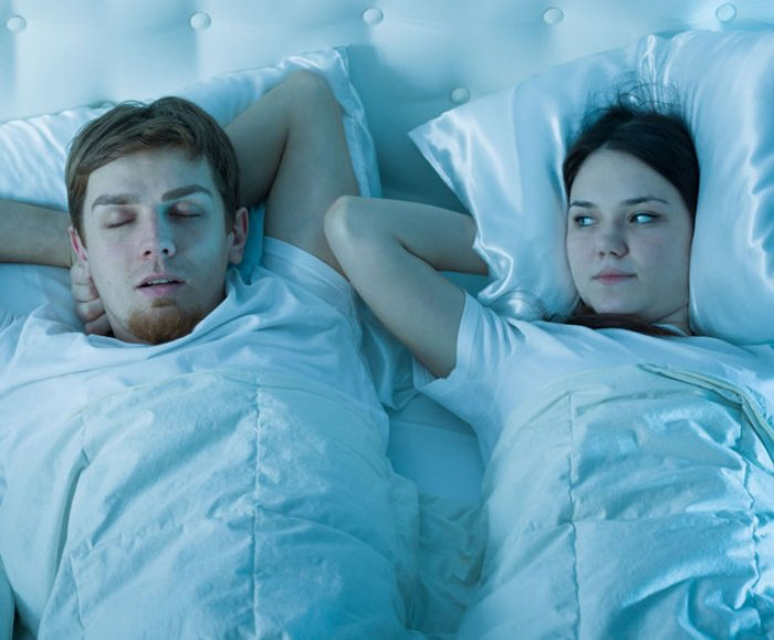 New app records your snoring then gives you a report to help you stop it