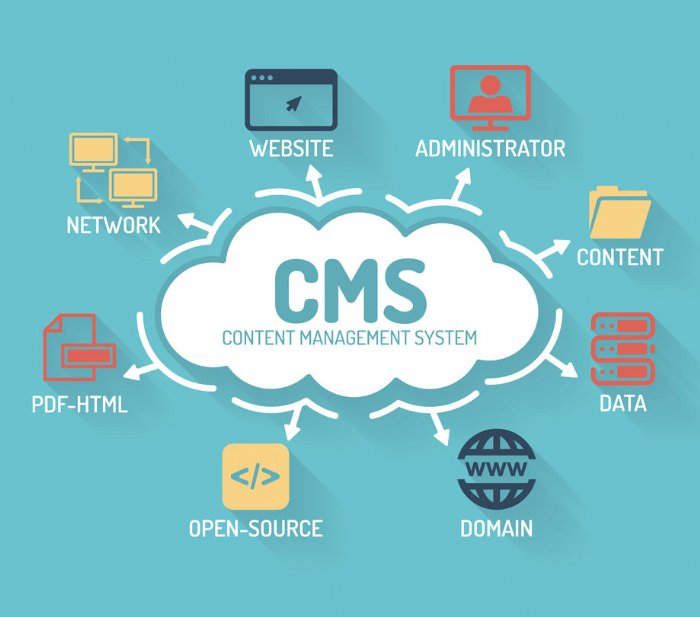 Content management systems evolution