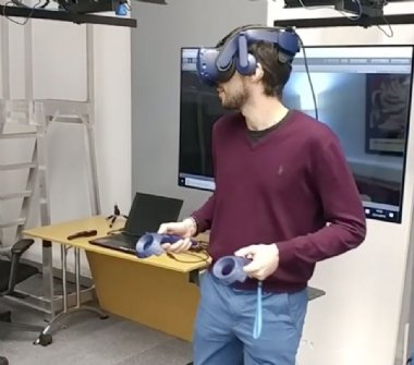 VR gaming with computer vision assisted audio coming