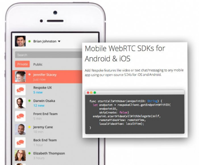 Respoke Launches WebRTC Functionally for iOS and Android