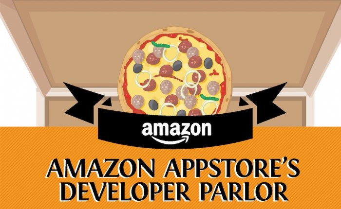 Amazon App Store Visualized in a Pizza!