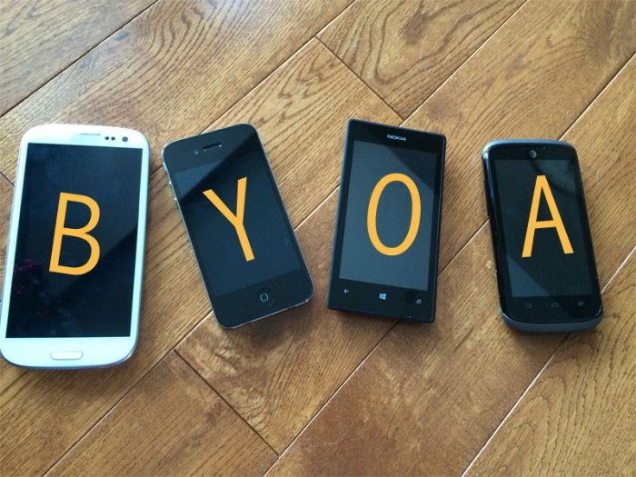 Enterprise Mobility and BYOA in 2014