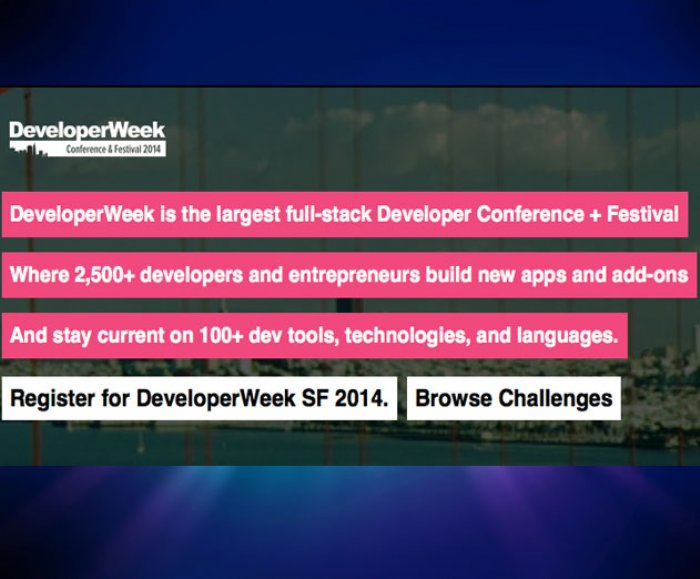 Developer Week Kicks Off In San Francisco