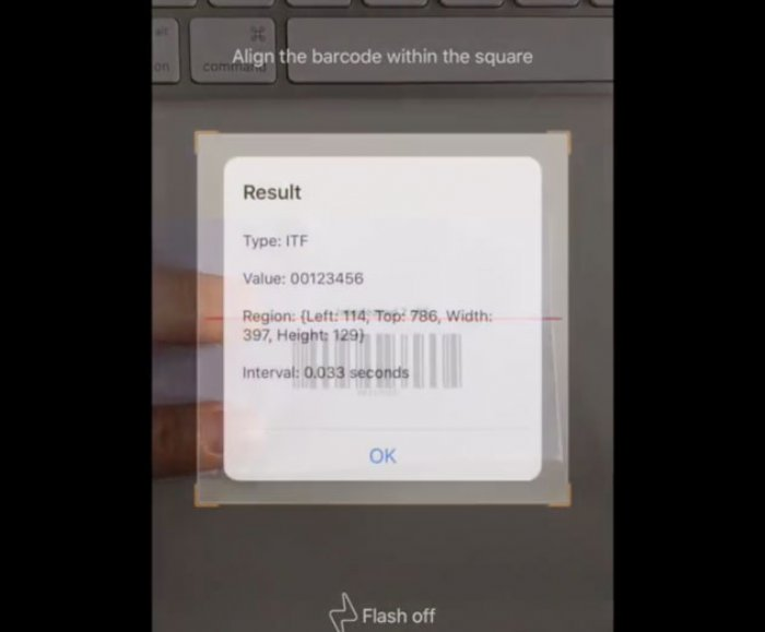 Dynamsoft Releases Barcode Scanning SDK for iOS Apps | ADM