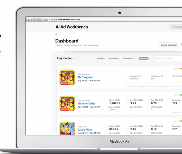 Apple Extends Reach of iAd Workbench for iOS App Developers