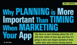 Why Planning is More Important Than Timing When Marketing Your App
