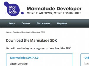 Marmalade Releases Version 7.1 for Cross platform Game and App Development, Testing and Deployment