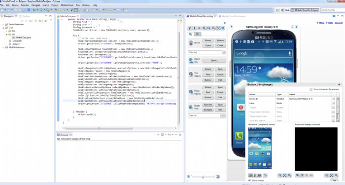 Mobile Testing Firm Perfecto Mobile Offers App Developers Extension to Eclipse