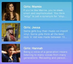 Kick off the season premiere of Girls in true hipster style with Songza