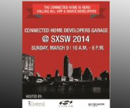 SXSW-Watch:-2014-Connected-Home-Developers-Garage-to-Attract-App-Developers-Wanting-to-Plug-into-$71B-Internet-of-Things-Market