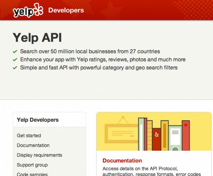 Yelp Updates Developer API Site, Increases Call Limits to 50,000