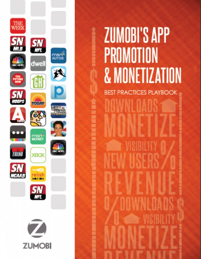 Zumobi Publishes App Developer Promotion & Monetization Best Practices Playbook
