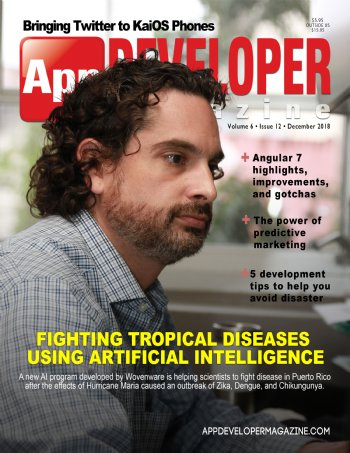 App Developer Magazine December-2018 for Apple and Android mobile app developers