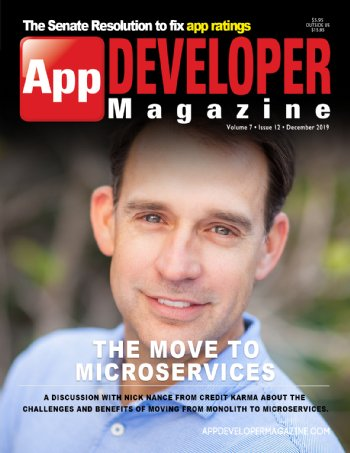 App Developer Magazine December-2019 for Apple and Android mobile app developers