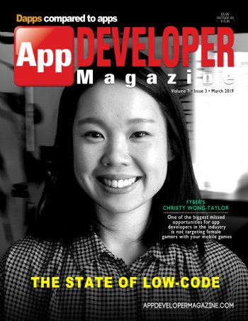 App Developer Magazine March-2019 for Apple and Android mobile app developers
