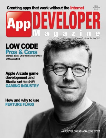 App Developer Magazine May-2019 for Apple and Android mobile app developers