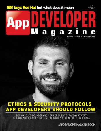 App Developer Magazine October-2019 for Apple and Android mobile app developers