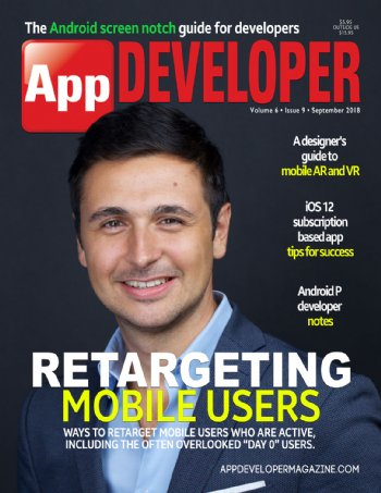 App Developer Magazine September-2018 for Apple and Android mobile app developers