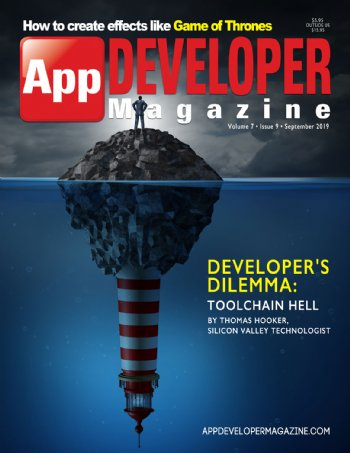 App Developer Magazine September-2019 for Apple and Android mobile app developers