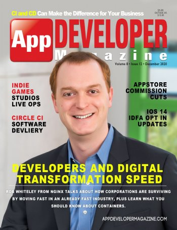 App Developer Magazine December-2020 for Apple and Android mobile app developers