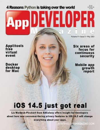 App Developer Magazine May-2021 for Apple and Android mobile app developers