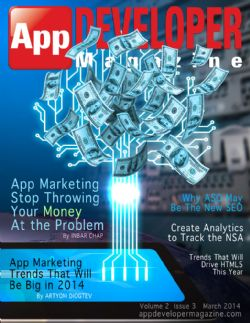 App Developer Magazine march cover